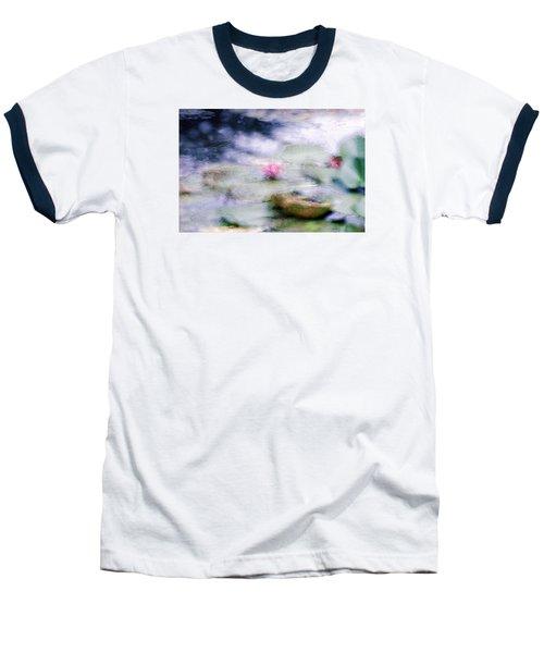 Baseball T-Shirt featuring the photograph At Claude Monet's Water Garden 12 by Dubi Roman