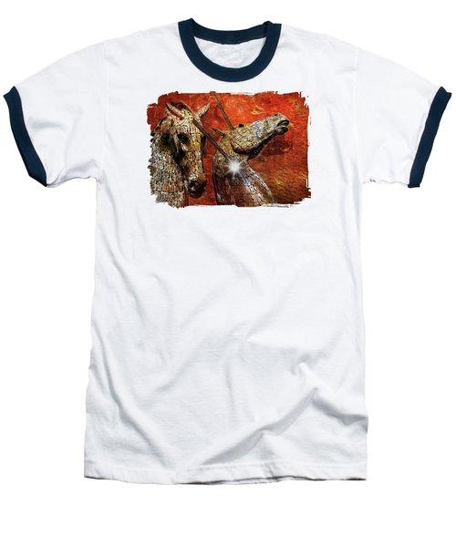 I Believe Baseball T-Shirt by Terry Fleckney