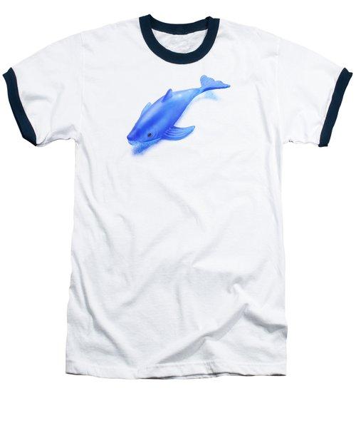 Little Rubber Fish Baseball T-Shirt by YoPedro