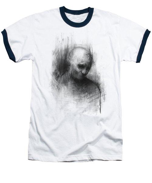 Thinker II Baseball T-Shirt by Bruno M Carlos