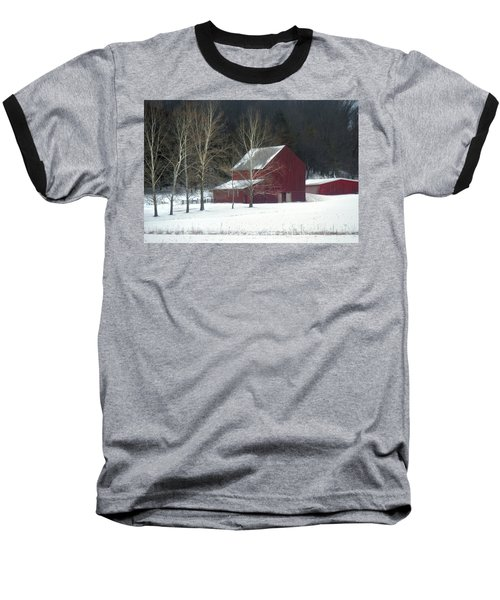 Red Barn Baseball T-Shirt