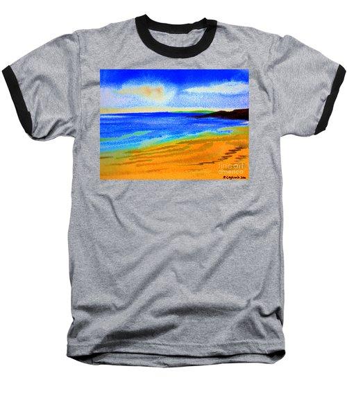 2 Australian Beach In The Morning Near Cottesloe Baseball T-Shirt