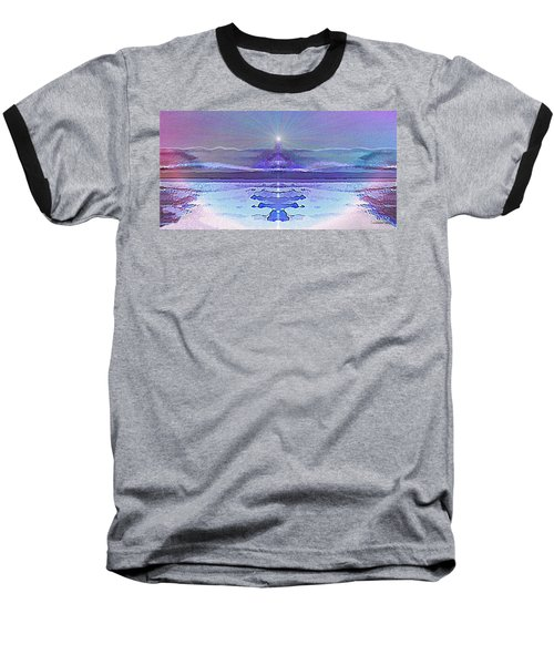 934 - Magic Light Beacon 2017 Baseball T-Shirt by Irmgard Schoendorf Welch