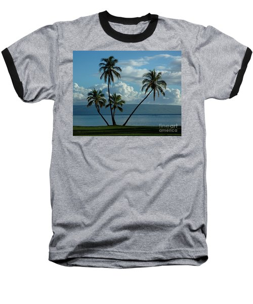 A Little Bit Of Paradise Baseball T-Shirt by Vivian Christopher