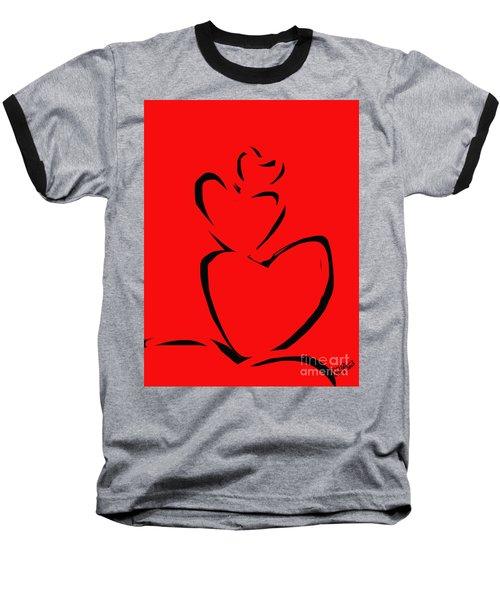A Stack Of Hearts Baseball T-Shirt