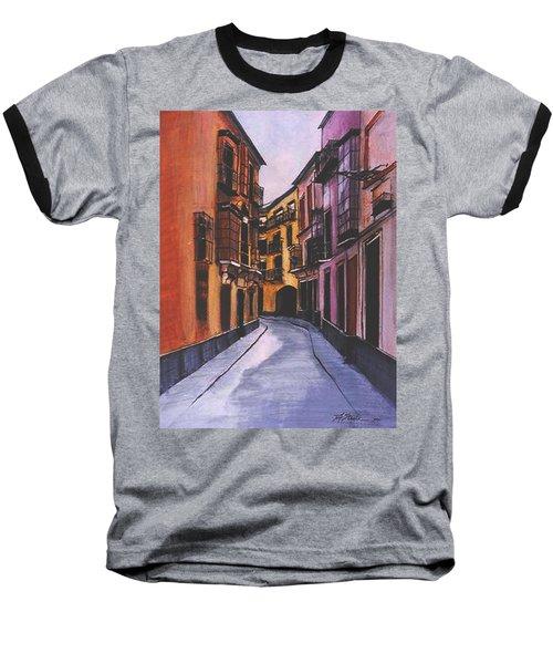 A Street In Seville Spain Baseball T-Shirt