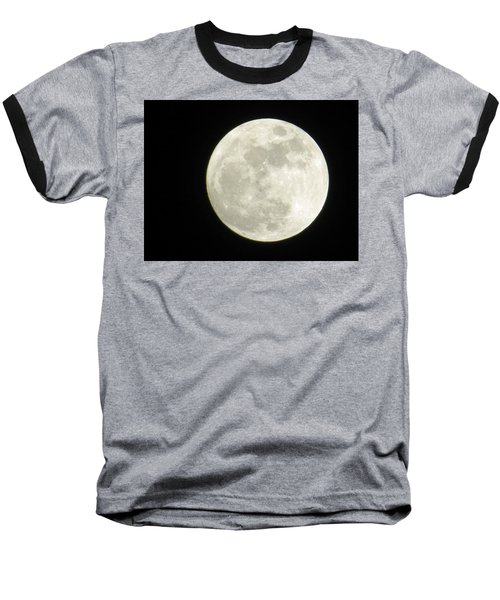A Winter'sfullmoon Over Ga Baseball T-Shirt
