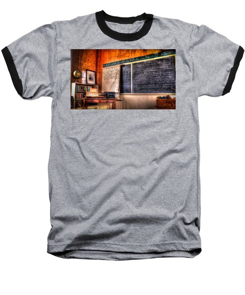 Baseball T-Shirt featuring the photograph  After School by Ray Congrove