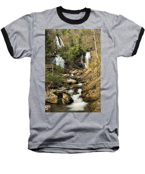Amacola Falls Baseball T-Shirt