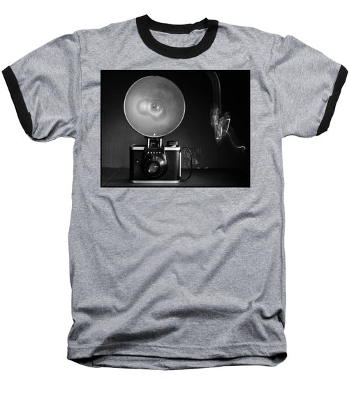 Ansco Camera Baseball T-Shirt