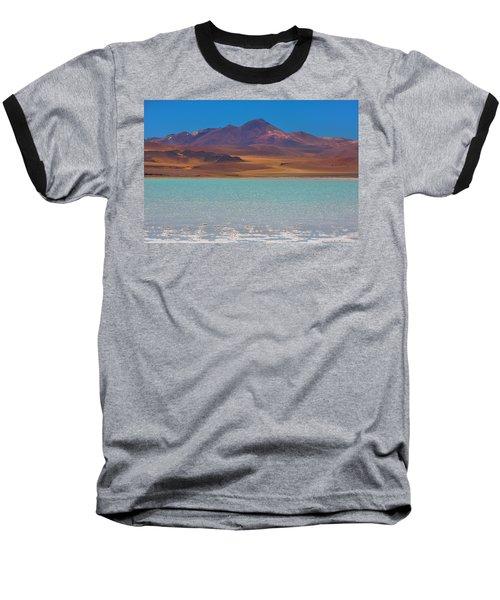 Atacama Salt Lake Baseball T-Shirt