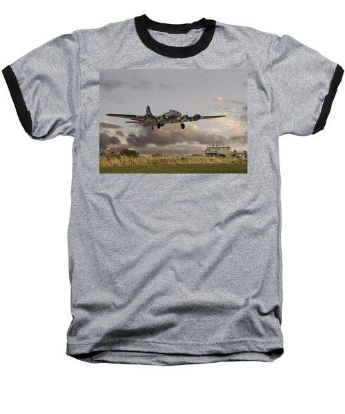 B17- 'airborne' Baseball T-Shirt by Pat Speirs