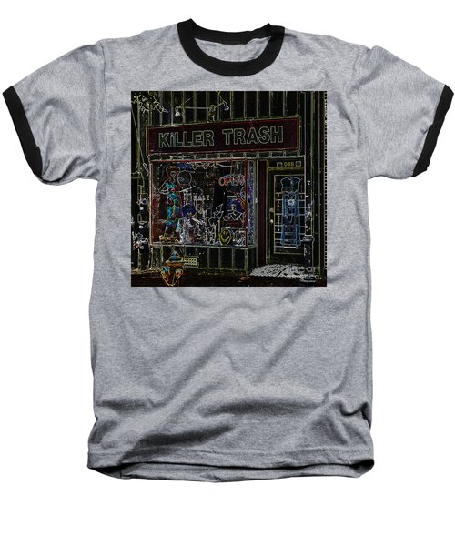 Baltimore Storefront Impression Baseball T-Shirt