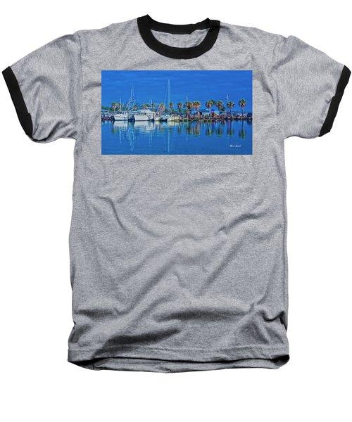 Blue Morning  Baseball T-Shirt