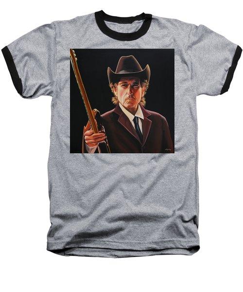 Bob Dylan 2 Baseball T-Shirt