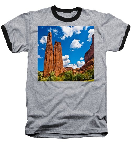 Canyon De Chelly Spider Rock Baseball T-Shirt