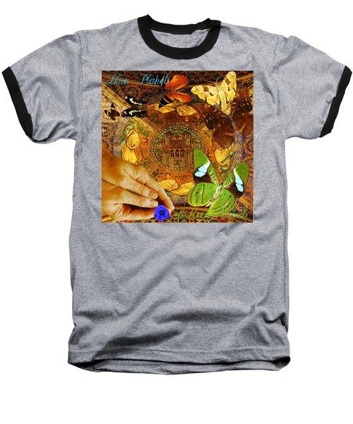 Civitate Dei   City Of God  Baseball T-Shirt by Joseph Mosley