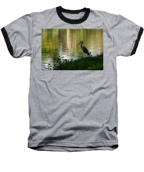 Baseball T-Shirt featuring the photograph Contemplating Impressionist Paintings by Georgia Mizuleva