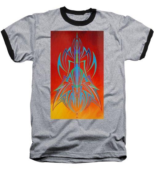 Desert Fire Storm Baseball T-Shirt