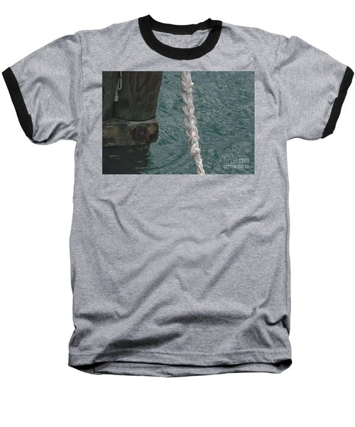 Dock Rope And Wood Baseball T-Shirt