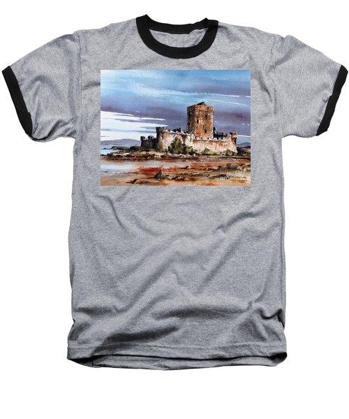 Doe Castle In Donegal Baseball T-Shirt