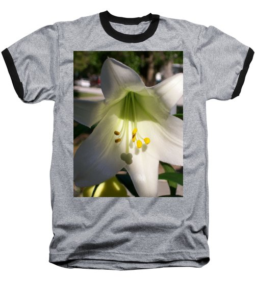 Baseball T-Shirt featuring the photograph  Easter Peace by Belinda Lee