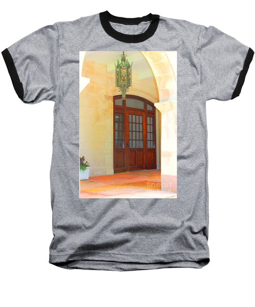Baseball T-Shirt featuring the photograph  Elegant Arched Entrance by Judy Palkimas