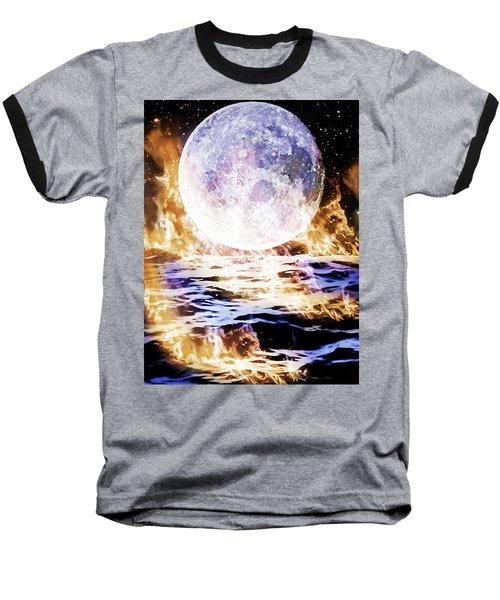 Emotions On Fire Baseball T-Shirt