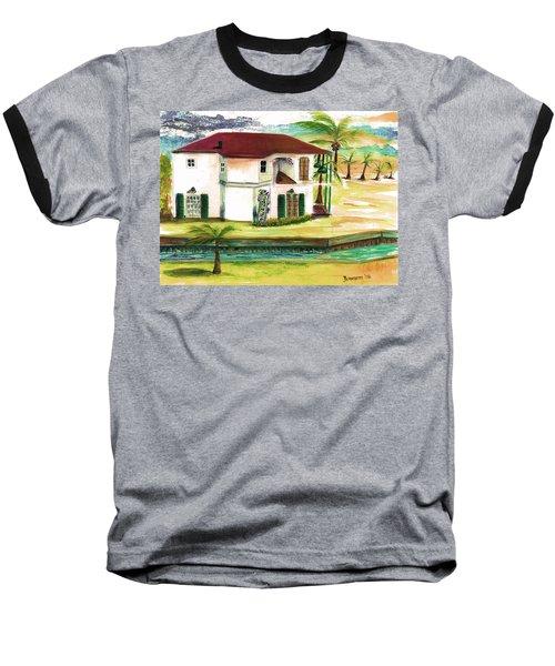 Fort Lauderdale Waterway Baseball T-Shirt