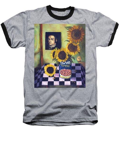 Goyas Baseball T-Shirt by Leah Saulnier The Painting Maniac
