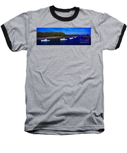Kennnepunkport Harbor  Maine  Baseball T-Shirt