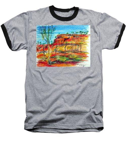 Kimberly Bold Cliffs Australia Nt Baseball T-Shirt