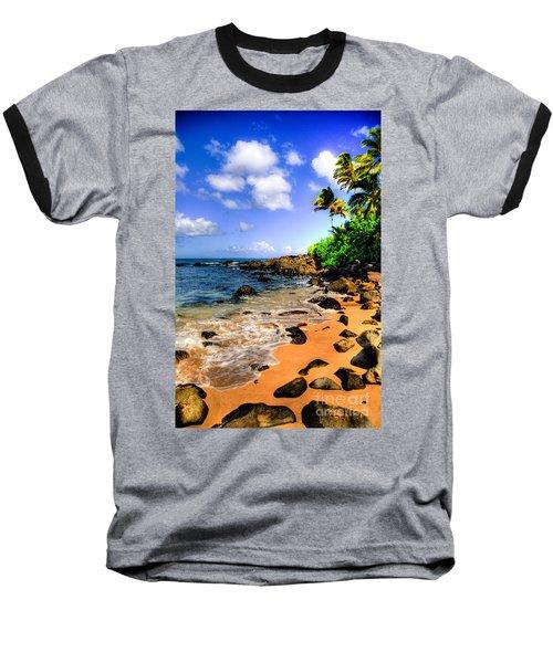 Laniakea Beach Baseball T-Shirt