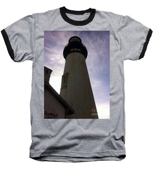 Light House Sky Baseball T-Shirt by Susan Garren
