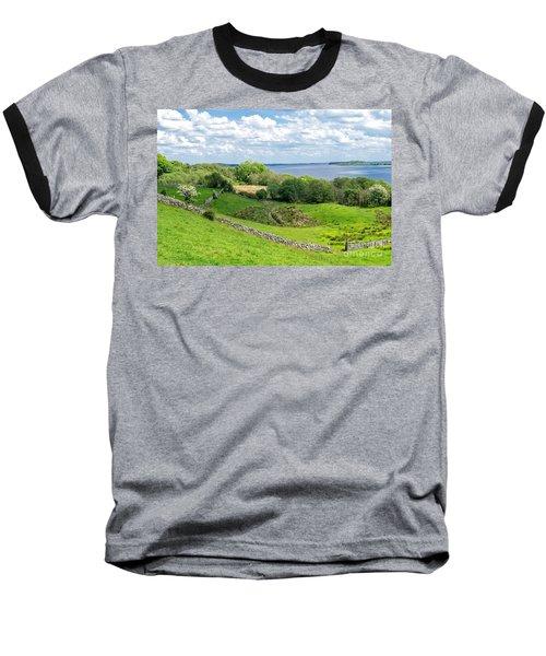 Baseball T-Shirt featuring the photograph  Loch Coirib by Juergen Klust