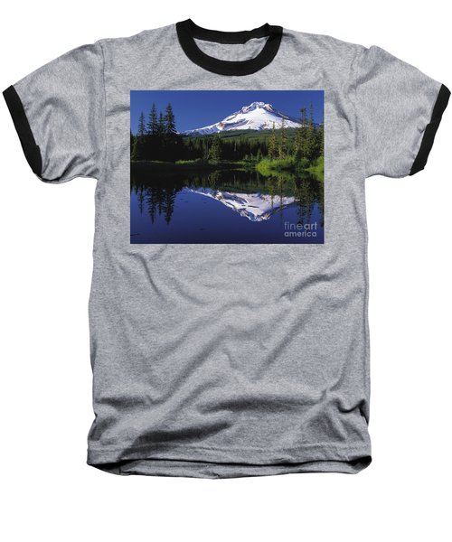 Baseball T-Shirt featuring the photograph  Mount Hood Oregon  by Paul Fearn