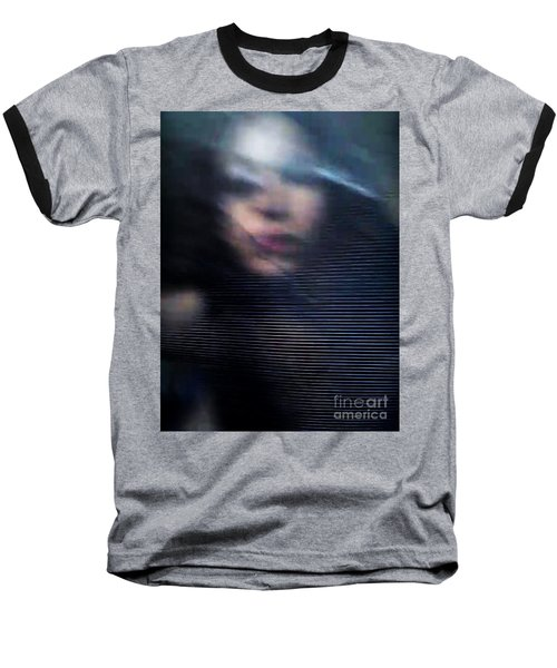 Baseball T-Shirt featuring the photograph  My Veneer by Jessica Shelton