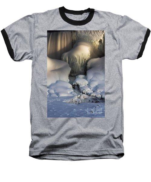 Niagara Falls Frozen Baseball T-Shirt