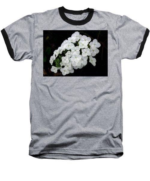 Oak Leaf Hydrangea Baseball T-Shirt