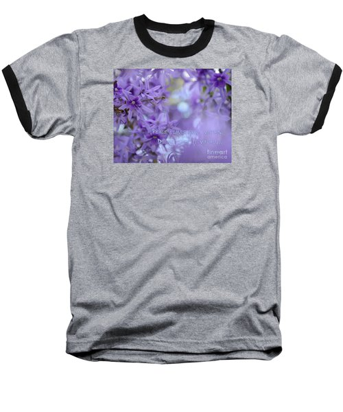 Peace Comes From Within Baseball T-Shirt
