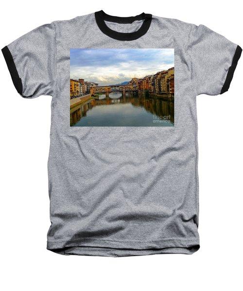 Ponte Vecchio's Padlocks Baseball T-Shirt