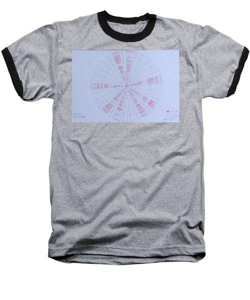 Prime Number Pattern P Mod 30 Baseball T-Shirt by Jason Padgett