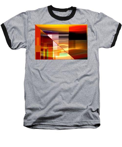 Red Desert Cosmopolis Baseball T-Shirt