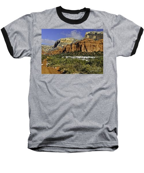 Red Rock-secret Mountain Wilderness Baseball T-Shirt