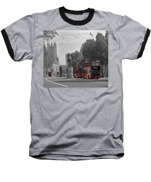 Routemaster London Buses Baseball T-Shirt