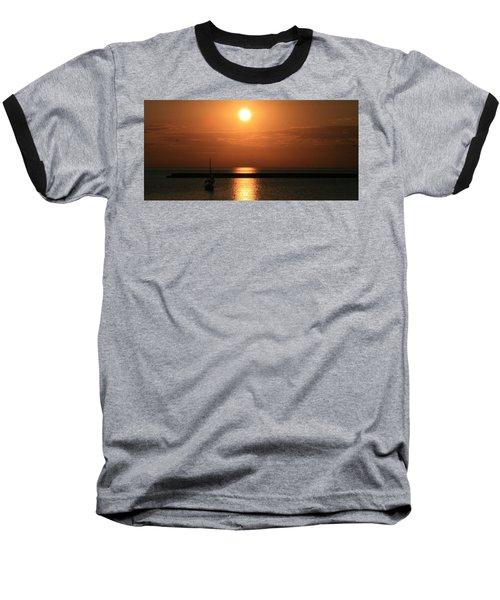 Sailboat A Drift Baseball T-Shirt
