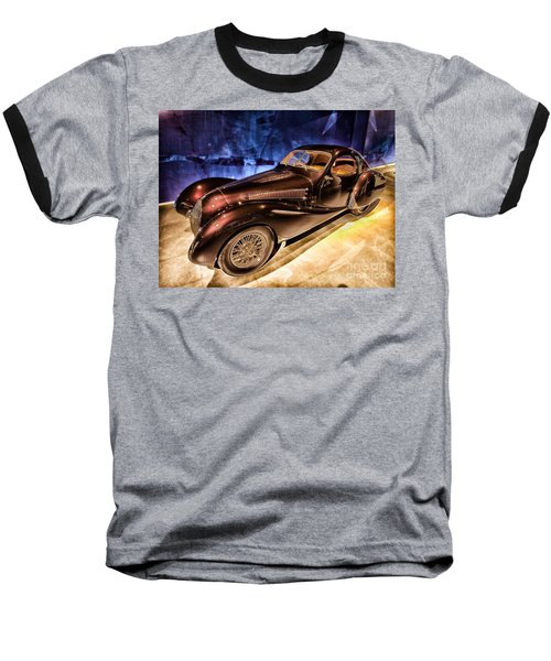 Baseball T-Shirt featuring the photograph  Talbot Lago 1937 Car Automobile Hdr Vehicle  by Paul Fearn