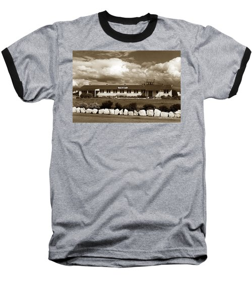 The Fort Ord Station Hospital Administration Building T-3010 Building Fort Ord Army Base Circa 1950 Baseball T-Shirt