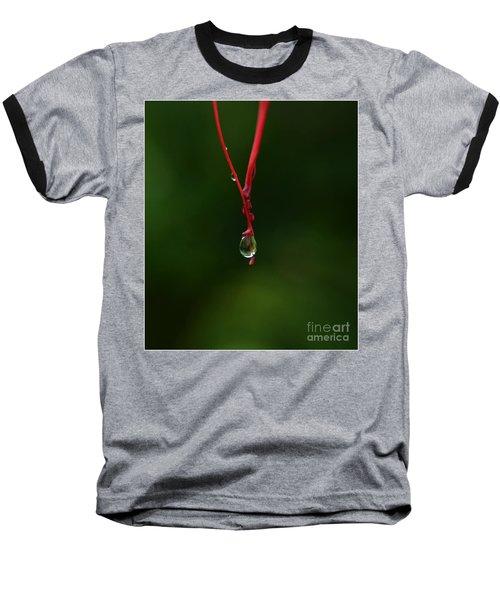 Waterdrop Baseball T-Shirt by Michelle Meenawong