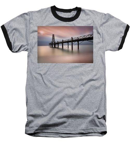 Wooden Pier Baseball T-Shirt